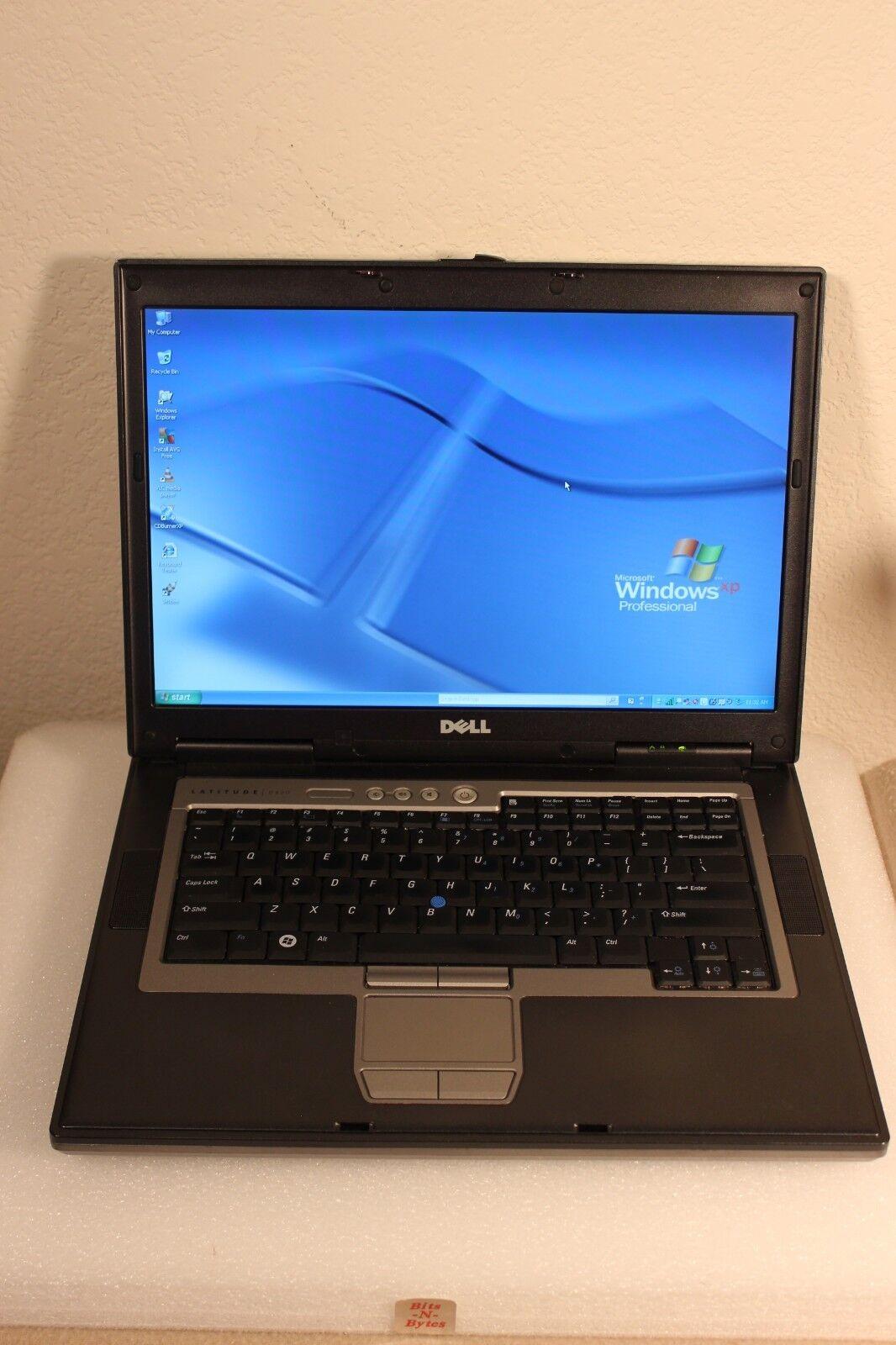 Dell Latitude D820 Notebook (1.66GHz/1.0GB/80GB/CDRW-DVD) Windows XP PRO 2VLKYB1