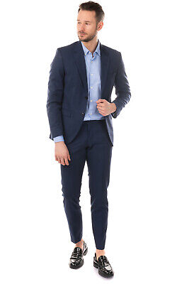 RRP €620 TIGER OF SWEDEN Thin Wool Single Breasted Suit Size 52 / XL Notch Lapel