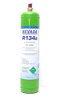 R134a Kältemittel 900g Eigentumsflasche für Klimaanlage EU-Qualität NEU GAS