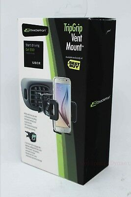 Bracketron TripGrip Car Vent Mount Holder for Most Mobile Phones - Black - NEW !