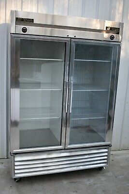 True T-49dt-g Dual Temp Reach-in Refrigerator Freezer