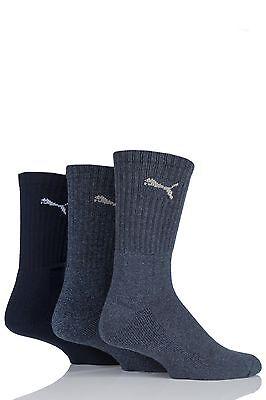 Mens & Ladies 3 Pair Puma Sports Socks
