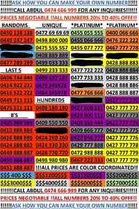 GOLD NUMBERS North Sydney North Sydney Area Preview