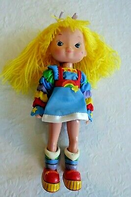 Vintage 1983 Hallmark Rainbow Brite Doll  - 8 Inches - Purchased New/Excellent