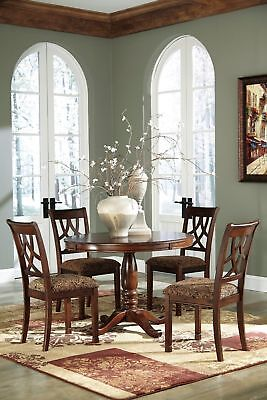 Ashley Furniture Leahlyn 5 Piece Round Dining Room Table Set  ()