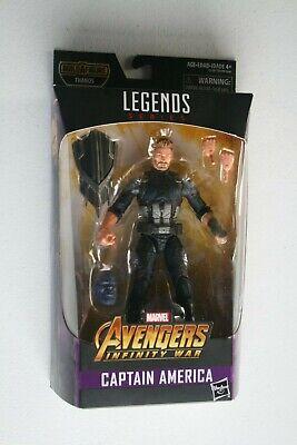 Marvel Legends Figure, Captain America, Build-A-Figure, Thanos, 2017