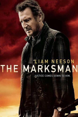The Marksman DVD 2021 Brand New & Sealed  Liam Neeson Katheryn Winnick Free Ship