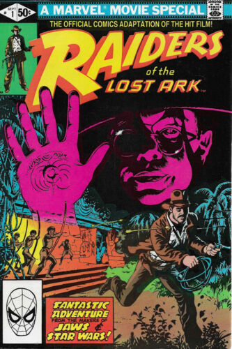 Raiders of the Lost Ark #1-3 Comic set  Marvel Movie Special