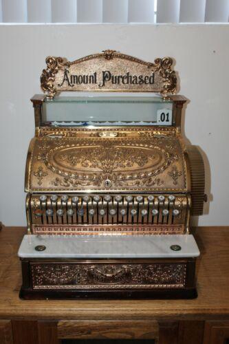 Early 1900s National Cash Register Model 349 Vintage Register