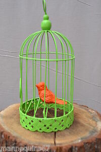 Cage metal oiseau decoration jardin maison cuisine ebay for Cage d oiseau decorative
