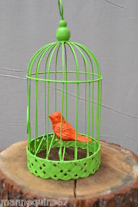 Cage metal oiseau decoration jardin maison cuisine ebay for Portillon jardin metal