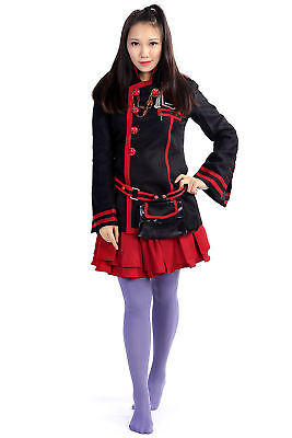 D.Gray-Man Cosplay Costume Lena Lee Lenalee Exorcist Uniform 3rd Version (Lenalee Lee Cosplay Kostüm)