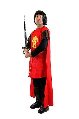 DRESS ME UP Karneval Kostüm Herren Ritter Mittelalter Kreuzritter Löwenherz L060