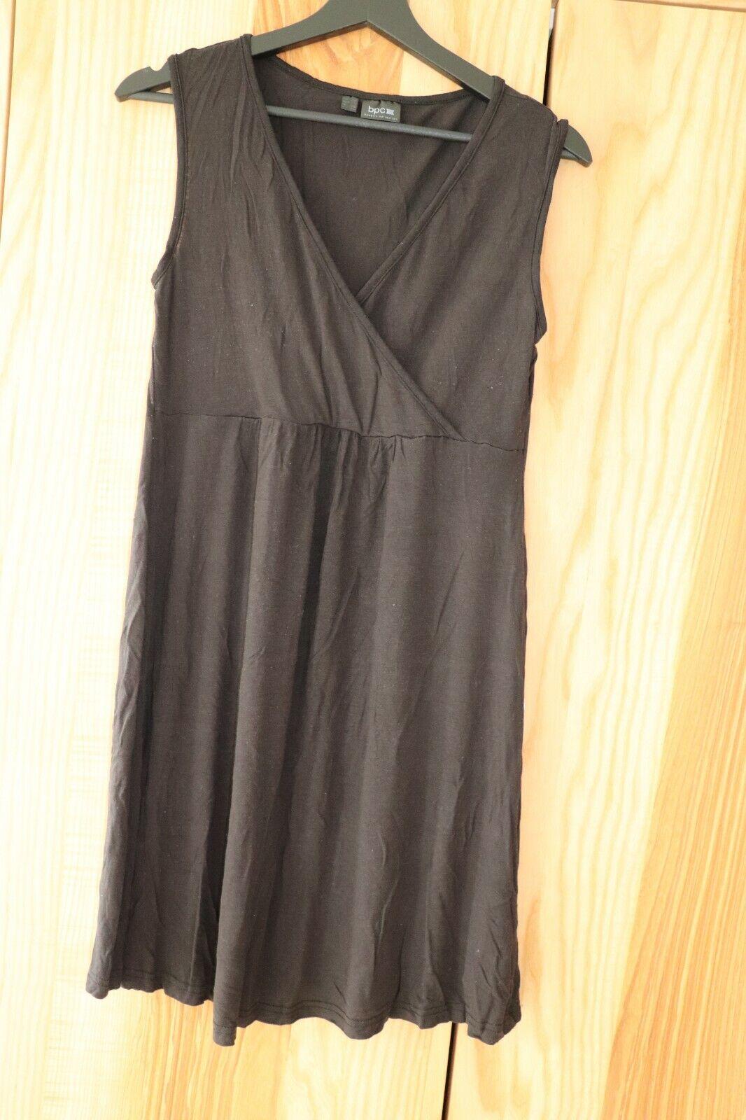 Umstandskleidung, Umstands-Nachthemd, Pyjama, schwarz, Gr. 36/38, bpc, ärmellos