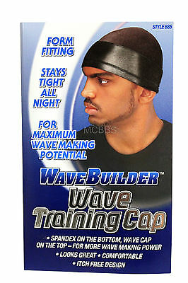 WAVEBUILDER WAVE RIPPLE TRAINING CAP ITCH-FREE  FORM FITTING BREATHABLE (#685)