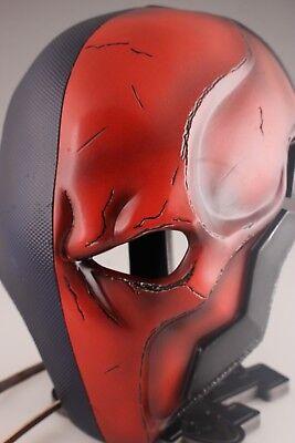 Slade Wilson Kostüm (Deathstroke mask Slade Wilson Justice League Halloween helmet Terminator cosplay)