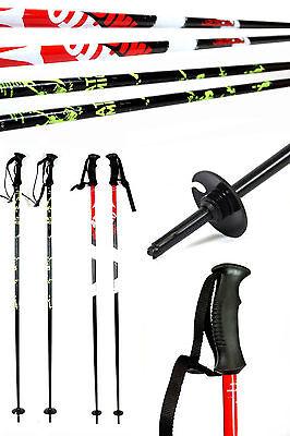 Paar ATOMIC Redster/AMT² Ski Alpin Skistöcke 110/115/120/125/130/135 cm ALU RED online kaufen