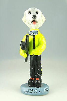 SNOWBOARDER GREAT PYRENEES-SEE INTERCHANGEABLE BREEDS & BODIES @ EBAY STORE