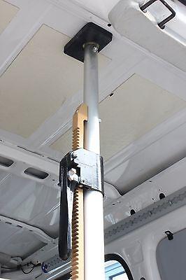 Alu Klemmbalken mit Gummifüßen Klemmbalken für Transporter 1,68 - 2,05 m