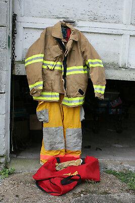 Firefighter Turnout Gear Coat Trousers Bag..... Globe Bodyguard Sz 46