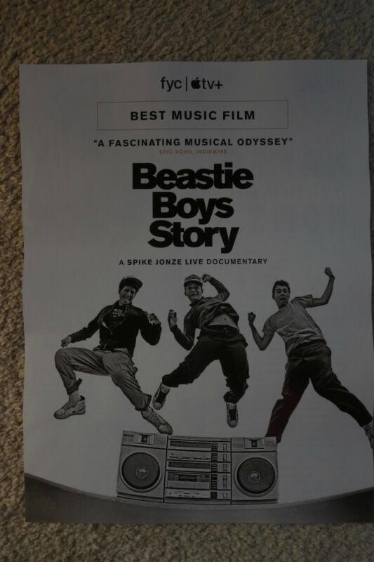 "BEASTIE BOYS ""Documentary"" 2021 Billboard Music Mag.PROMO Poster Ad-Beauty!"