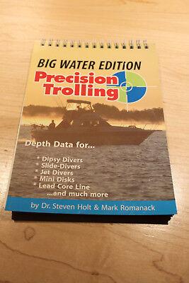 PRECISION TROLLING BIG WATER EDITION Holt Romanack RARE! EX Cond.