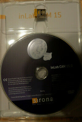 Inlab 15.0 Cam Software With Licence  Sirona New Cerec 15 In Lab