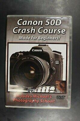 Canon 50d Dvd (Canon 50D Crash Course - Pre-Owned (R4))