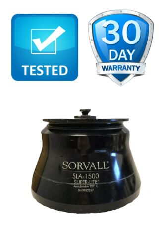 Sorvall SLA-1500 Super-Lite Autoclavable 121°C 6 Position Fixed Angle Rotor