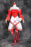H-3377 L/xl/xxl Leage Of Legends Lol Ahri Zorros Fox Cosplay Disfraz Set -  - ebay.es