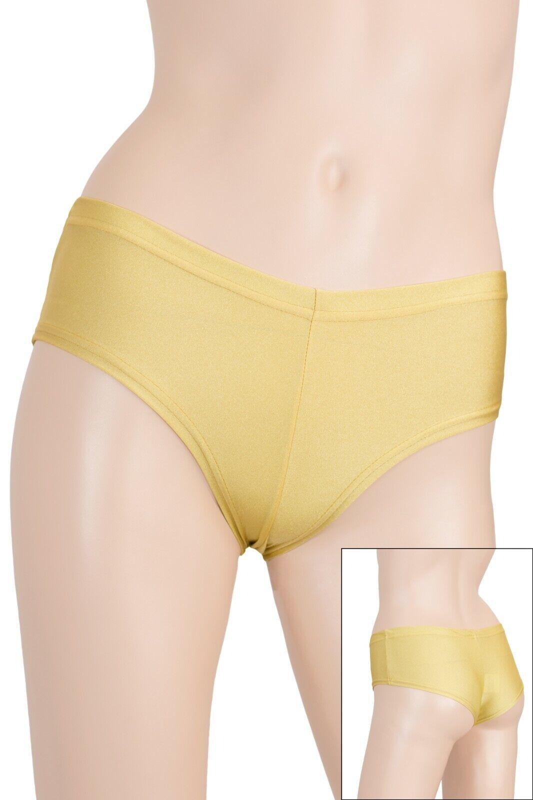 Damen Panty Panties Slips elastisch wie eine zweite Haut stretch shiny S bis XXL