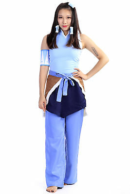 Avatar: Legend of Korra Cosplay Costume Korra Outfit Set V1