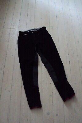 Pantalon d'équitation Euro star, synthétique et cuir, taille 40, état neuf