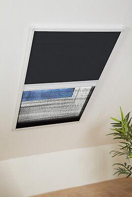 Dachfenster Fliegengitter Kombi-Plissee - Sonnenschutz - u. Insektenschutz