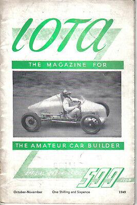 IOTA 500cc Racing Club Magazine October-November 1949