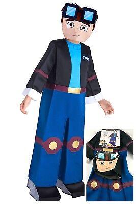 Dan TDM Tube Heroes Boys Halloween Deluxe Child Costume Size Small 4-6