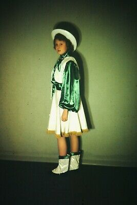 Original Slide 1951 First costume dance cowgirl cute Halloween Rodeo kid adore