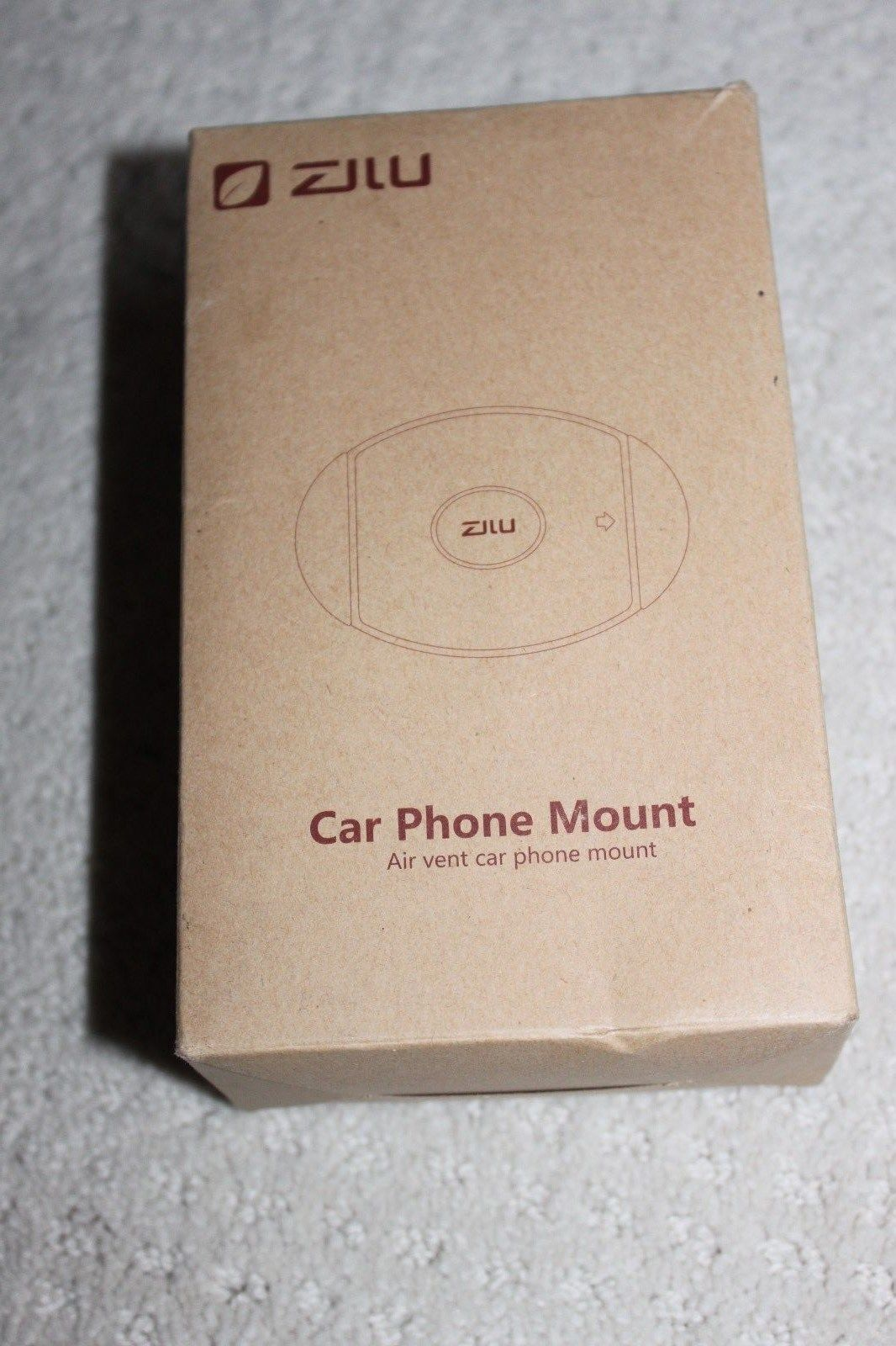 Zilu Car Phone Mount Universal Holder Dashboard AirVent Crad