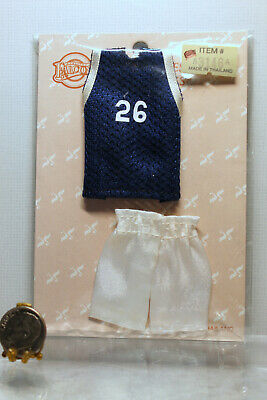 Dollhouse Miniature Basketball Uniform