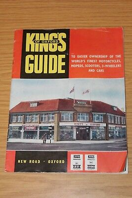 Kings Of Oxford Brochure & Letter inc. Messerschmitt Sports Cabriolet, Heinkel,