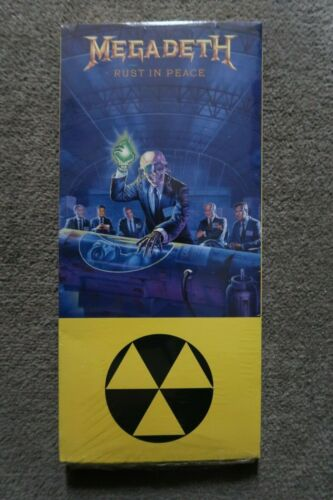 Megadeth Rust In Peace -CD with LONGBOX  (1990)