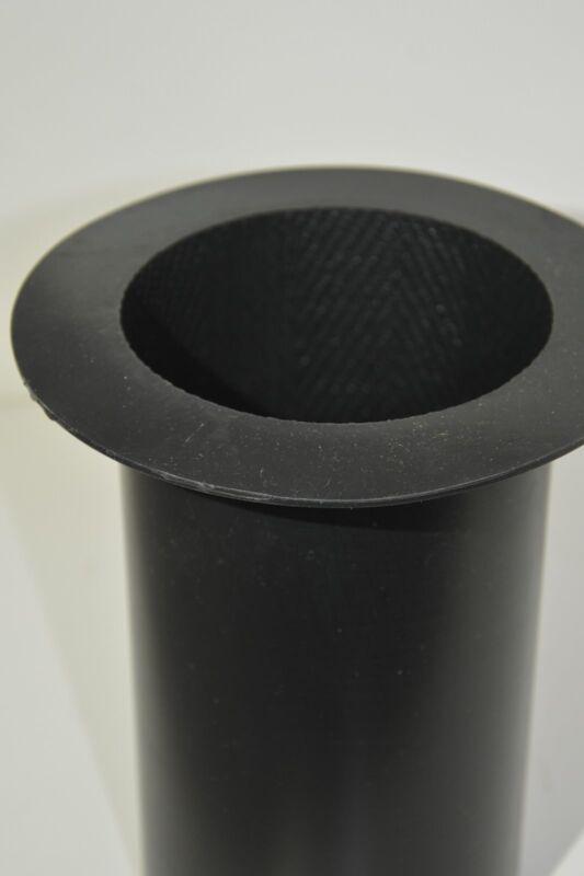 """4""""x6"""" Herringbone Silicone Pillar Candle Mold"""