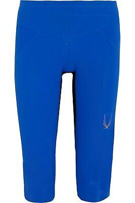 $205 NWT LUCAS HUGH Core Performance cropped stretch-jersey leggings Sz M