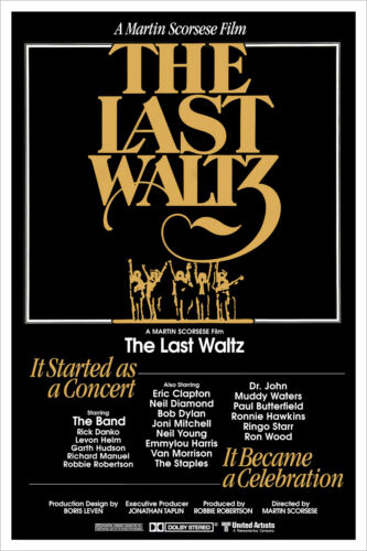 The Last Waltz - Movie Poster Print