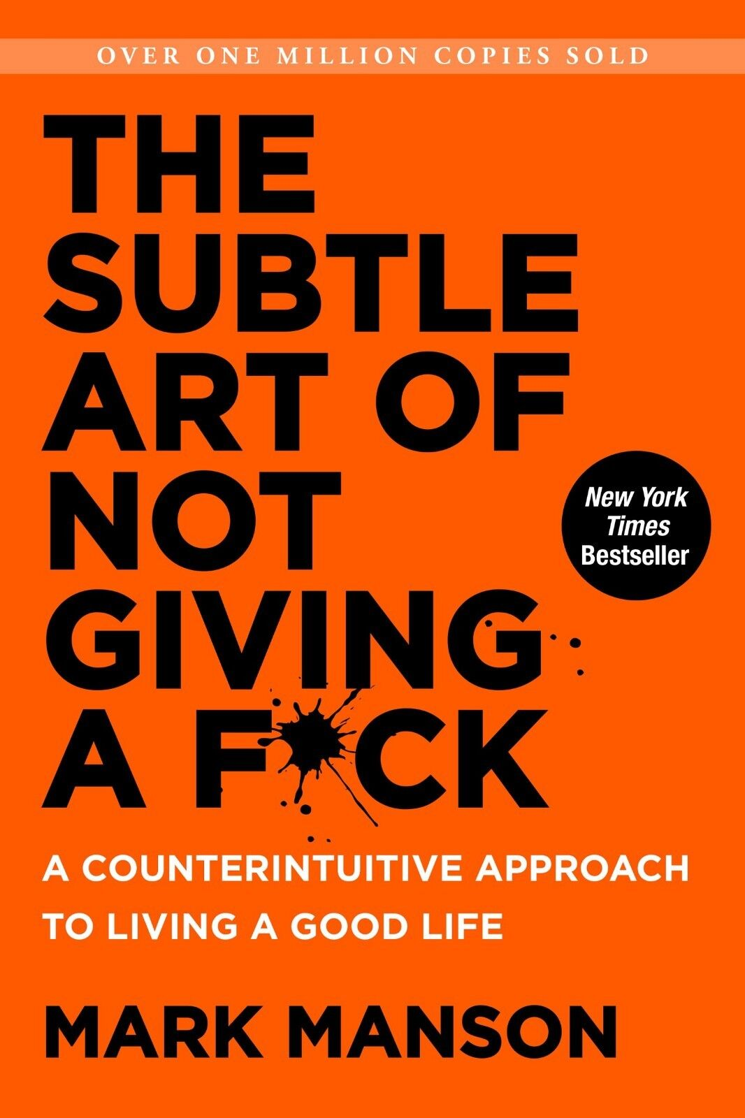 Купить The Subtle Art of Not Giving a F*ck by Mark Manson A Counterintuitive Approach,,