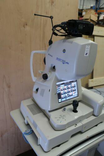 2013 Topcon 3D OCT-2000 Optical Coherence Tomograph V8.4 Nikon D7000 topcon