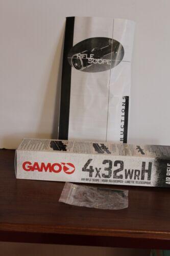 Gamo Swarm Whisper  Break Barrel Air Rifle  4x32 Scope Only