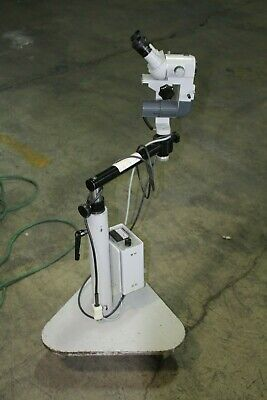 Carl Zeiss Opmi 1 Operating Microscope 129889 Wcarl Zeiss 6v 30w Lamp Power Sup