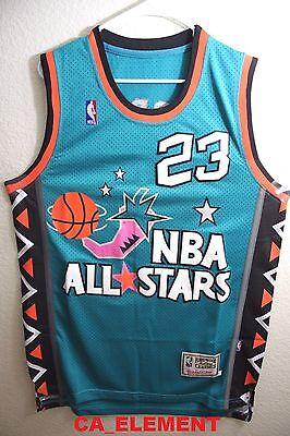 Mitchell Ness NBA 1996 All Star Michael Jordan Swingman Men Jersey