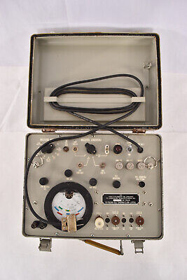 Vintage Military Hickok Test Set Radio Anurm-113a Prc-8 9 10 Tester